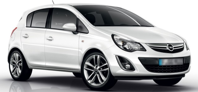 Kat. C – Opel Corsa automatic 1200cc model 2014