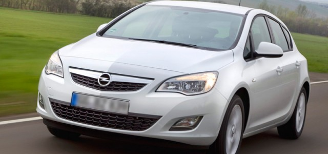 Cat. D – Opel Astra 1300cc model 2011