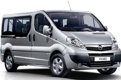 Cat. E – Opel Vivaro 2000cc 7 seater